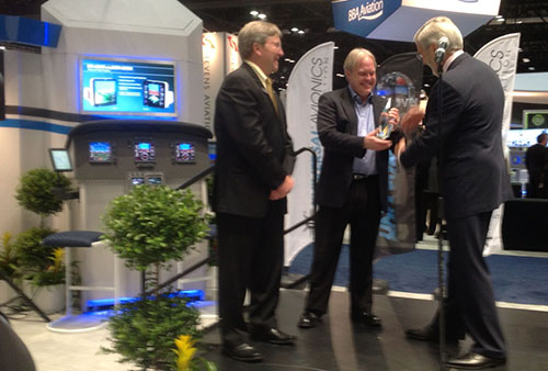 Universal Avionics Top Dealer Award