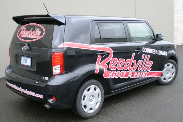 Reedville Autobody Car Graphics