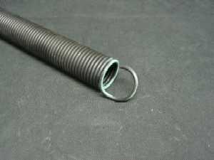 How to measure extension springs for your garage door for Garage door spring weight