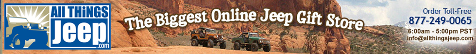 www.allthingsjeep.com - A Jeep Gifts & Accessories Superstore