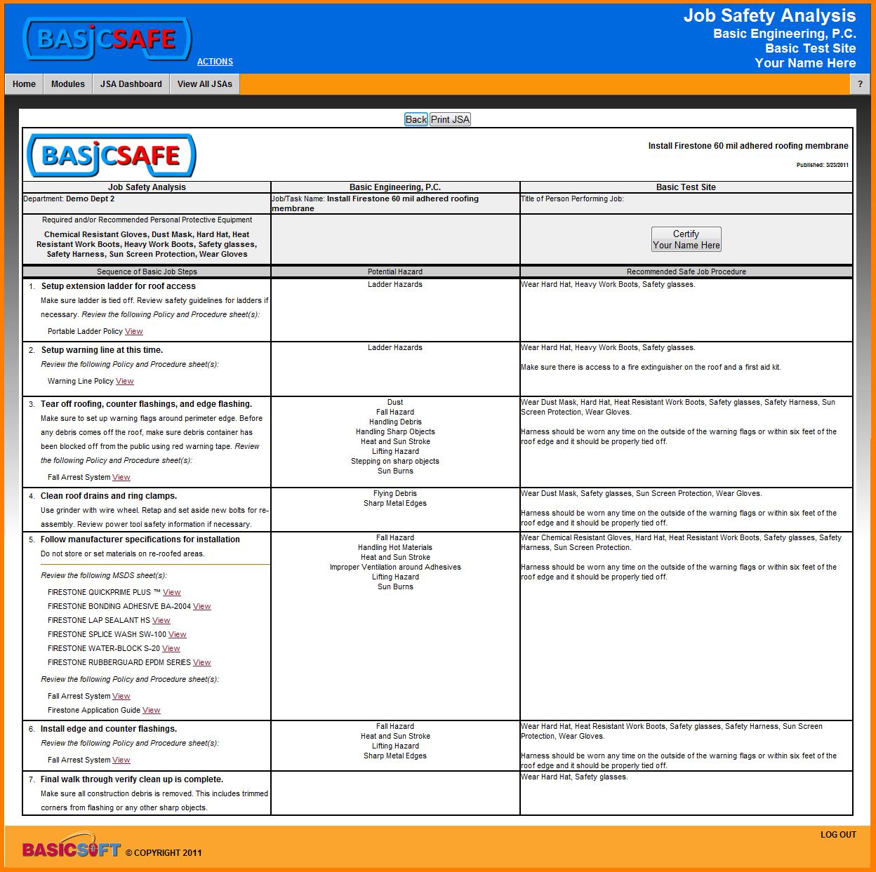 Social media marketing books for dummies job safety analysis – Job Site Analysis Template