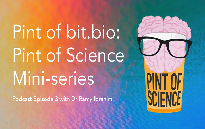 Podcast: Dr Ramy Ibrahim discusses cell therapy – episode 3 of our Pint of Science mini-series