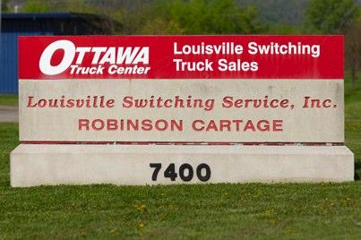 Louisville Switching Ottawa Trucks Kalmar trucks cartage Louisville