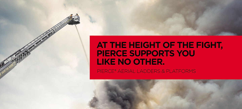 Fire Truck Aerial Platform Full Extended Spraying Water
