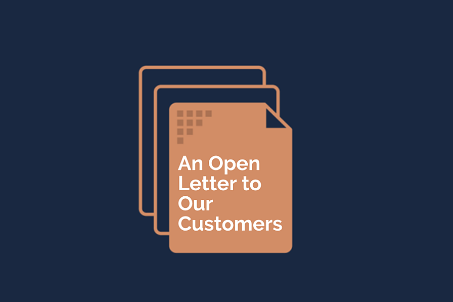 After the dust has settled: An open letter to Algorithm's customers