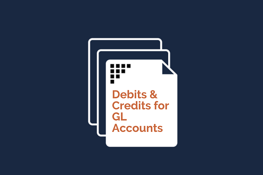 Acumatica tip: Summarized debits and credits for expense-type GL accounts