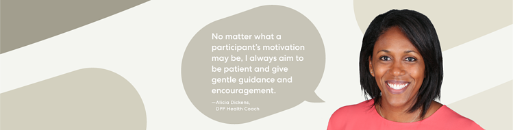 Coach Spotlight: Alicia Dickens on Making Small yet Meaningful Health Changes