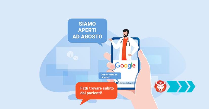 Usa la Prenotazione Online per agganciare più pazienti durante agosto!