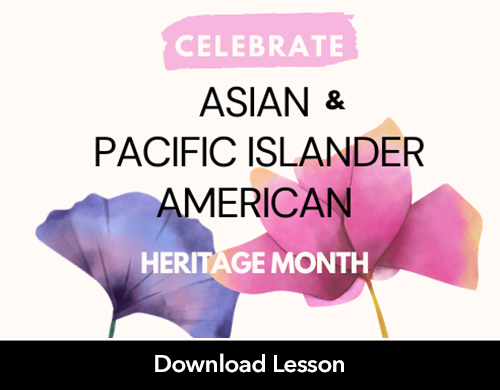 Driveway Lesson Planning: Celebrating AAPI Month