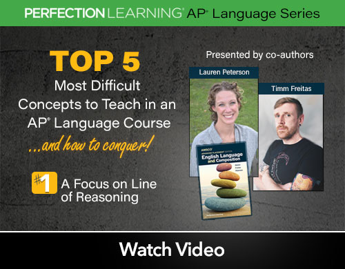 #APLangTop5 Session 5: A Focus on Line of Reasoning