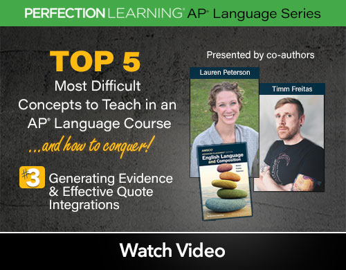 #APLangTop5 Session 3: Generating Evidence