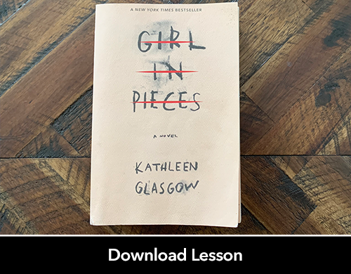Mental Health Awareness: Girl in Pieces