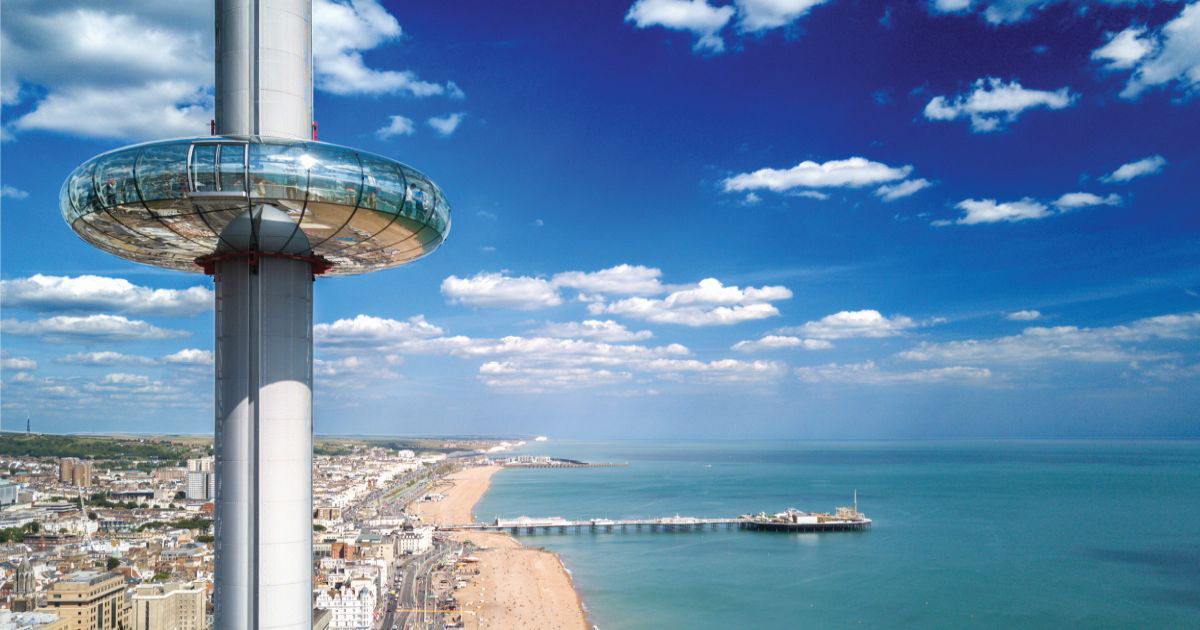 British Airways i360 : Coming out of lockdown