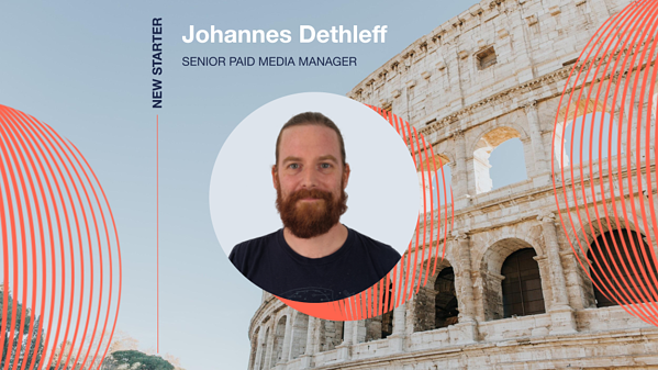 Digital Visitor welcomes Johannes Dethleff as our new Senior Paid Media Manager