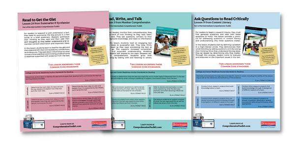 Download a Free Toolkit Lesson