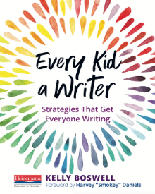 Every Kid A Writer Small Book Cover Graphic for Blog jam