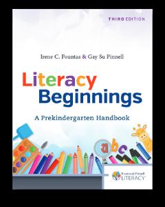 Fountas Pinnell Literacy Beginnings Cover Drop Shadow jam