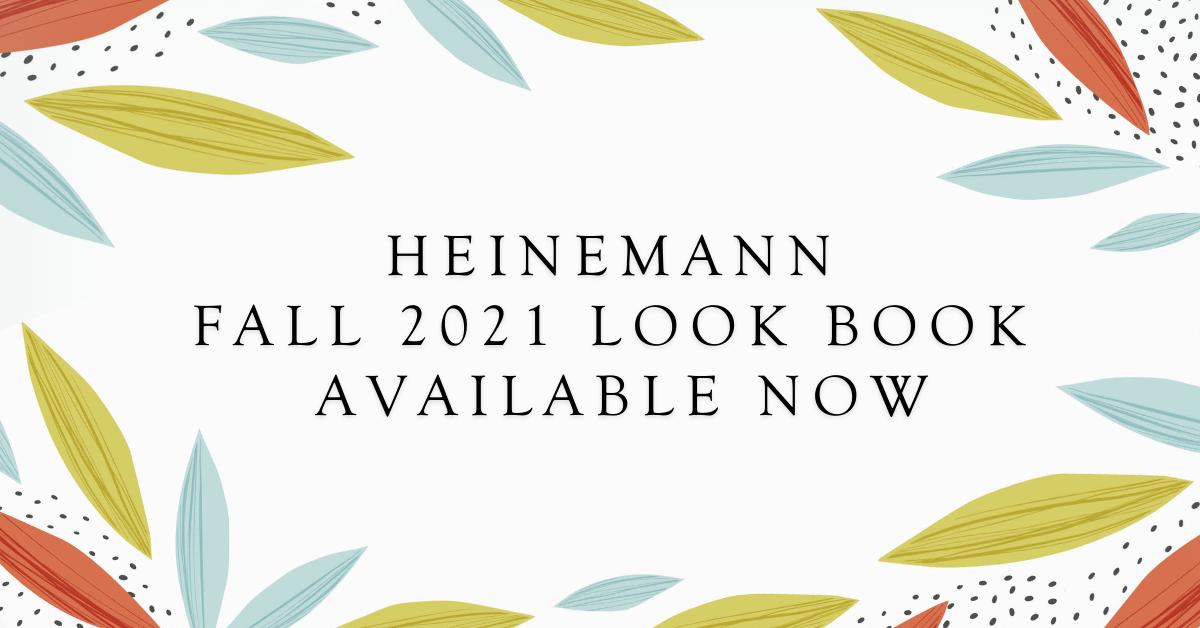 Heinemann Fall 2021 Look Book Available Now jam