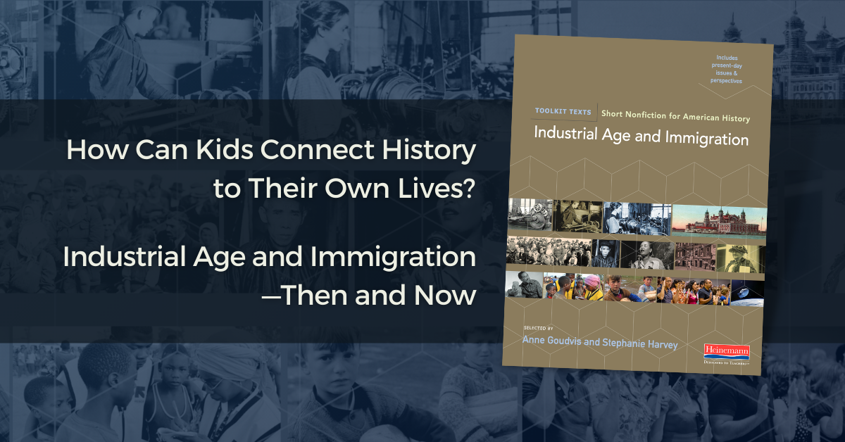 How can kids connect history to their own lives