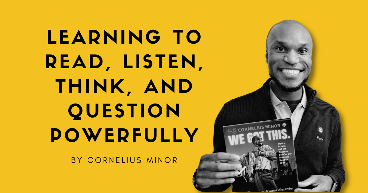 Learning to Read, Listen, Think, and Question Powerfully