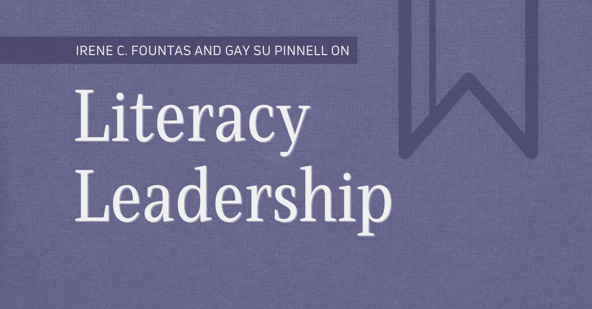 Literacy Leadership Blog Header Graphic