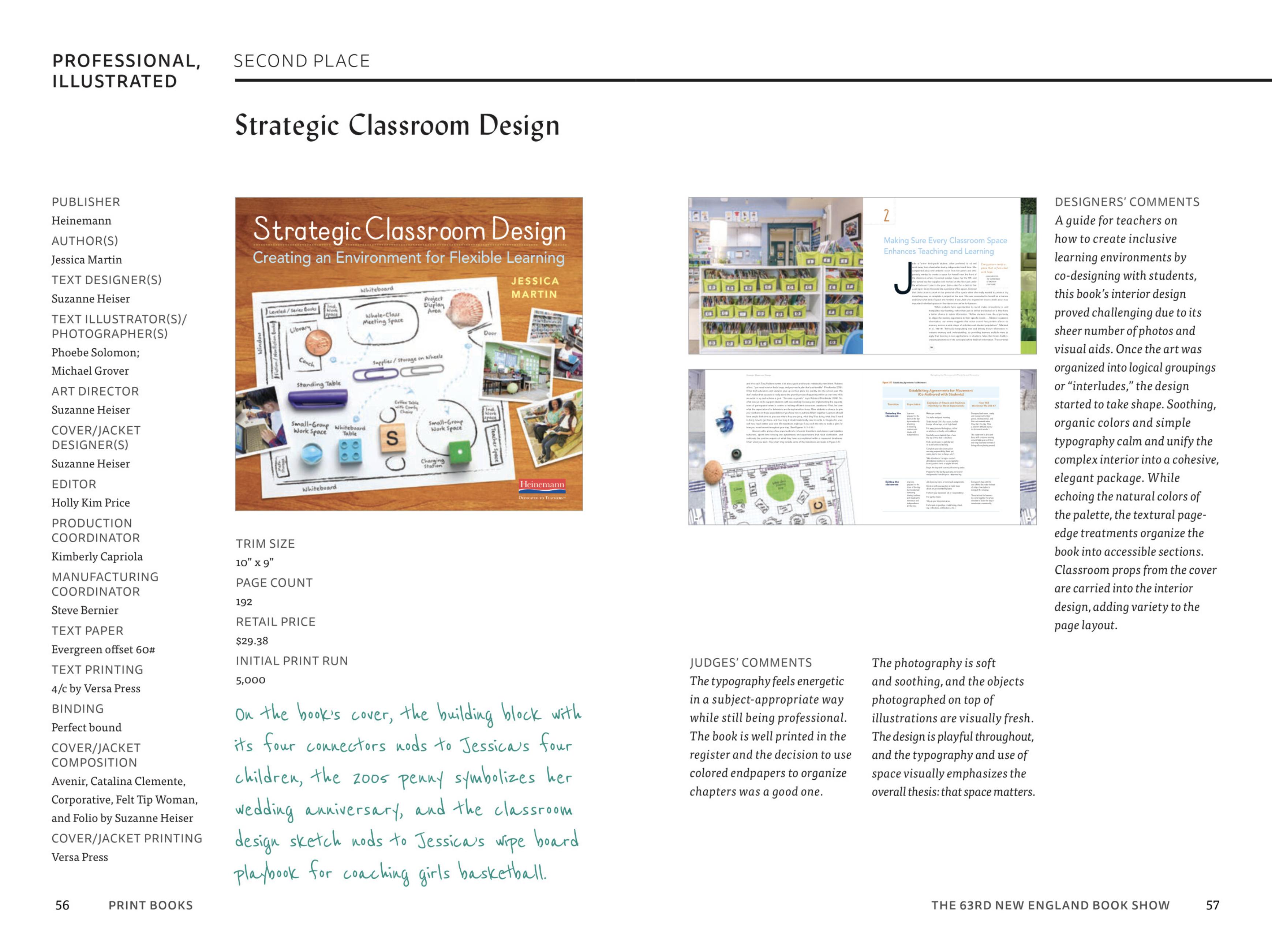 NEBS Strategic Classroom Design