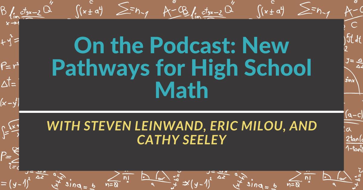 New Pathways for Highschool Math (2)