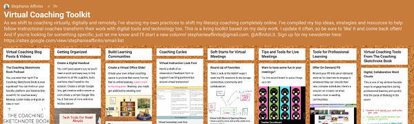 Padlet Screen Shot