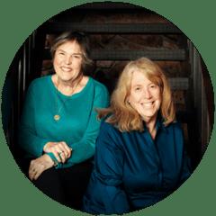 Steph Harvey and Anne Goudvis Headshot
