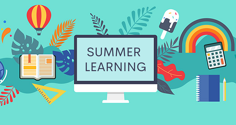 Summer Learning Header text