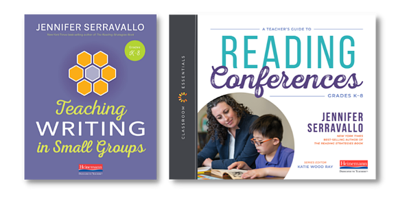 TWiSGs + Teachers Guide to Reading Conferences Book Covers