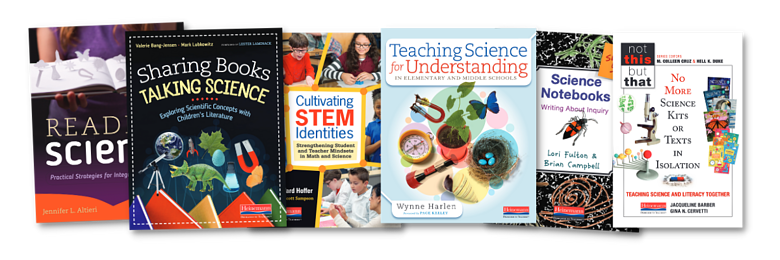 Talking Science Book Covers jam
