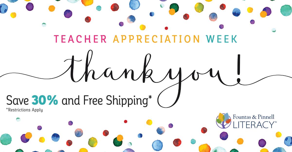Teacher Appreciation Blog Header 2021 F&P