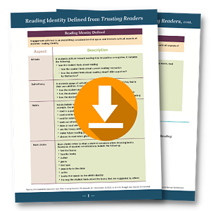 Reading Identify Defined from Trusting Readers PDF