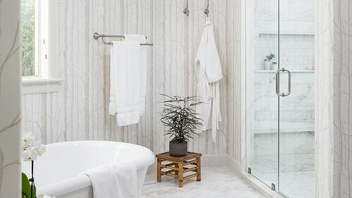 From Dated to Designed: Luxury Master Bath Remodel Stars Steam