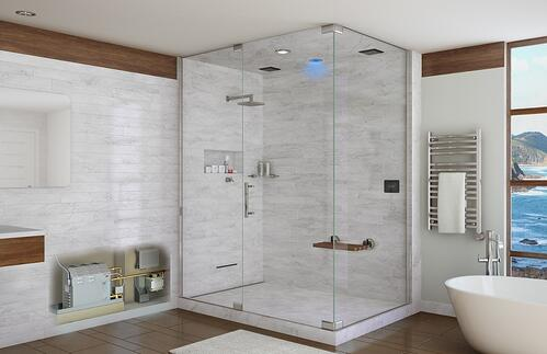 How to Design a Steam Shower in 5 Minutes or Less