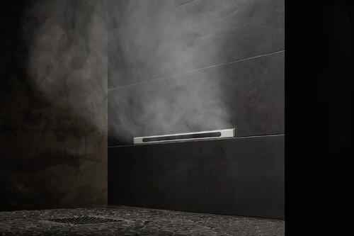 How 3 Designers Maximize Bathroom Style with the Linear SteamHead