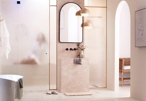How to Design a Refined, Minimalist Bathroom