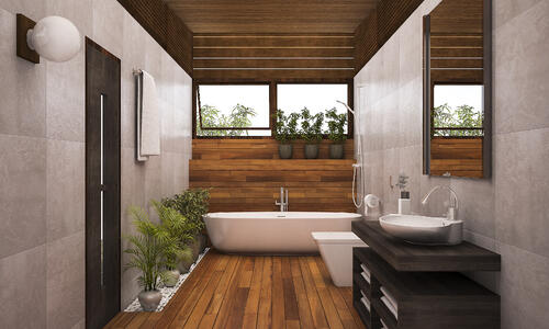 5 Ways to Bring Nature into Bathroom Design