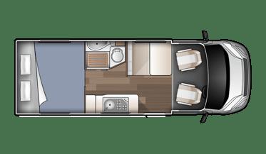 Compact Plus motorhome rentals new zealand