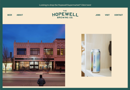 hopewell brewing home page