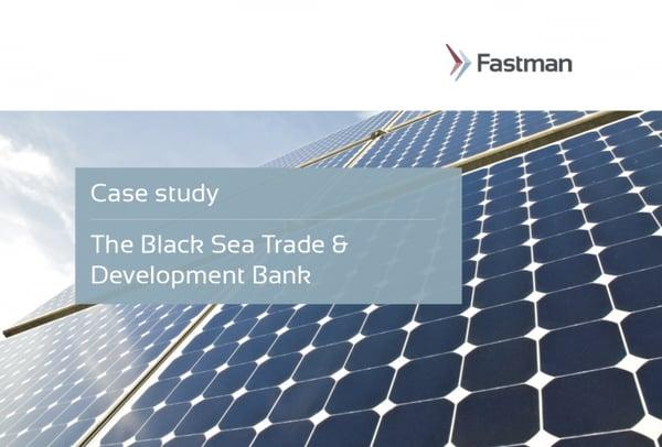 Black Sea Trade & Development Bank Case Study