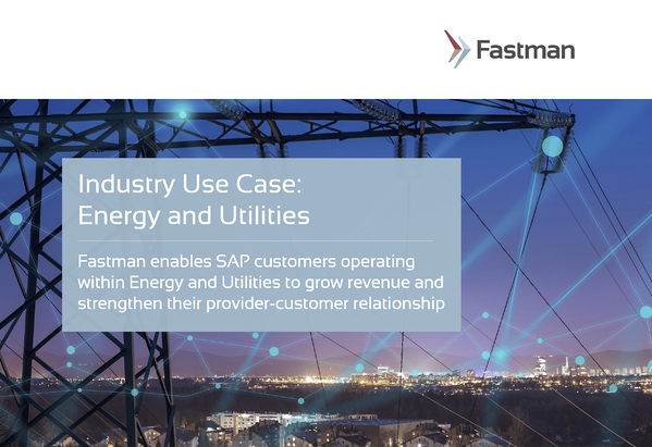 Industry Use Case: Energy and Utilities