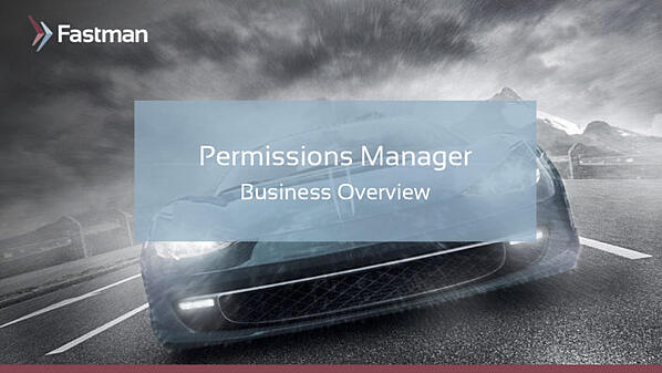 Permissions Manager Business Presentation