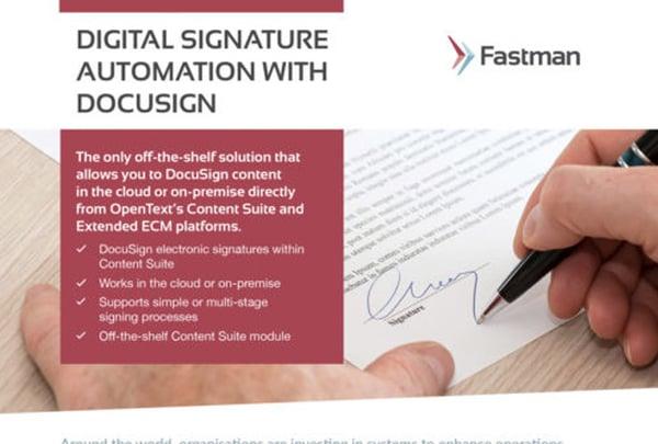 Digital Signatures Data Sheet