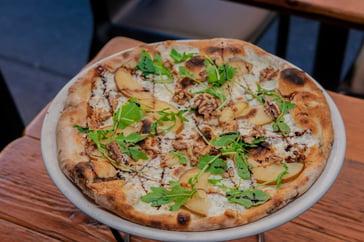 Turkish Gourmet Pizza at Bodrum restaurant NYC