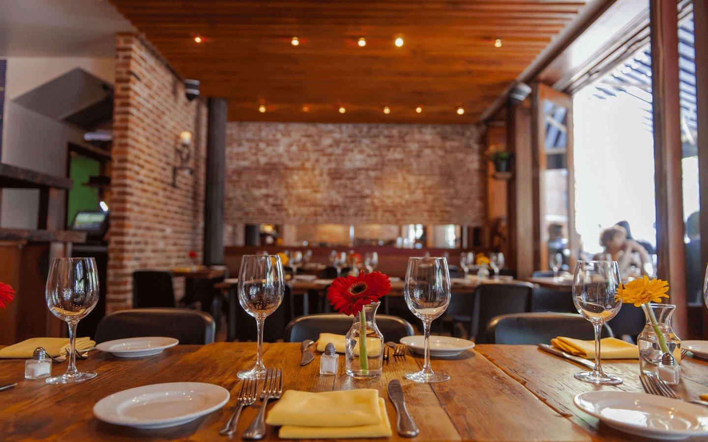 Interior of Bodrum Mediterranean Restaurant