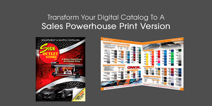 Transform Your Digital Catalog To A Sales Powerhouse Printed Version