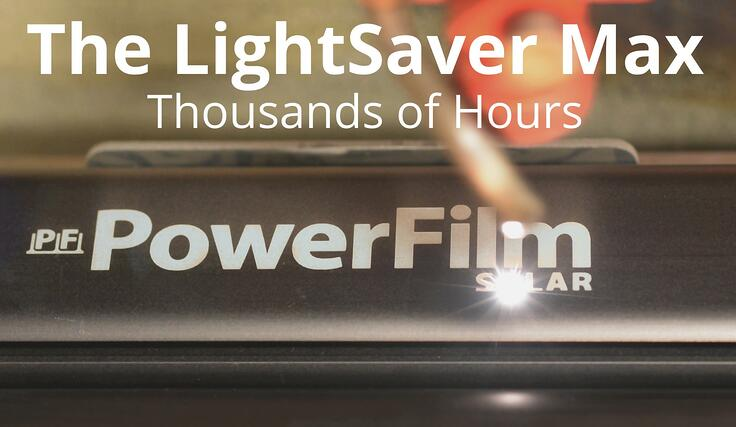 LightSaver Max: Thousands of Hours