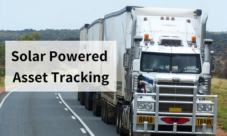 Solar Powered Asset Tracking